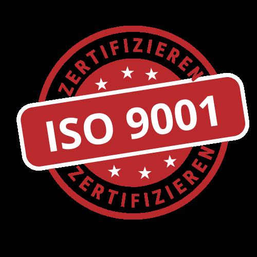 Zertifizieren ISO:9001